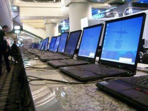 Laptop mieten | ausleihen | Notebook | Netzwerktechnik | Switch | Server